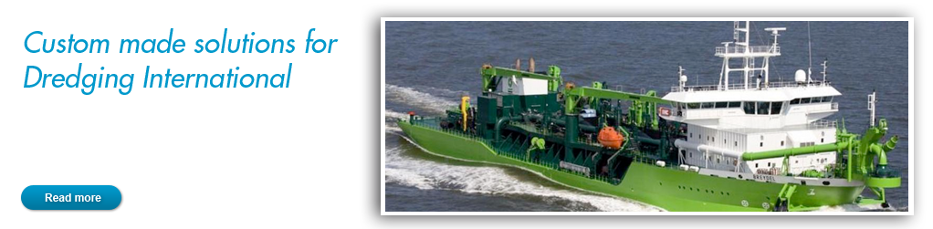Custom made solutions for Dredging International